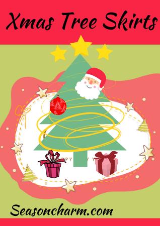Pink Christmas Tree Skirts