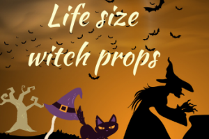 Life Size Witch Props