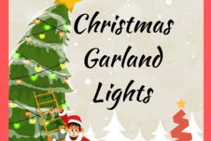 Garland Style Christmas Lights