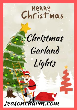 Garland Style Christmas Lights