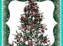Artificial Silver Tips Christmas Trees