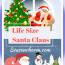 Life Size Santa Claus Decorations